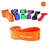 [Resistance Bands] BESTOPE® Premium Latex Pull Up Fitness Exercise Bands Workout Strap Exercise Loop Crossfit Bands for Strength Weight Training and Yoga