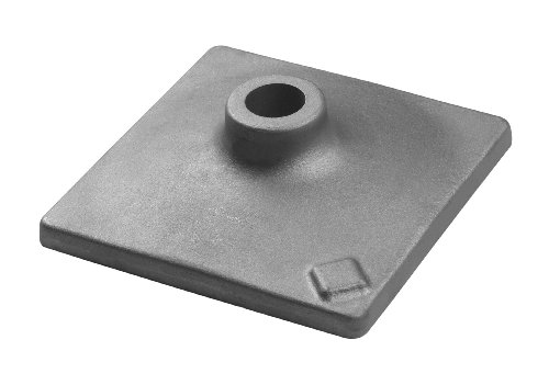 Bosch 1 618 633 101 - Placa pisón, 120 x 120 mm, pack de 1