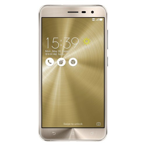 "ASUS ZenFone 3 ZE552KL Dual SIM 4G 64GB Gold - Smartphones (14 cm (5.5""), 64 GB, 16 MP, Android, 6.0, Gold)"