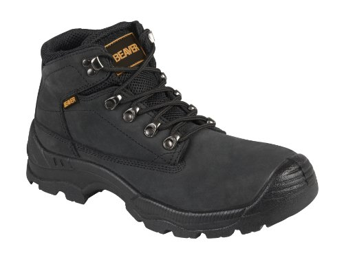 Parent Units Beaver 915 S3 Midcut Hiker, Scarpe di Sicurezza Uomo Nero (Black)