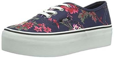 Vans U Authentic Platform floral Navy Unisex Adults LowTop Sneakers