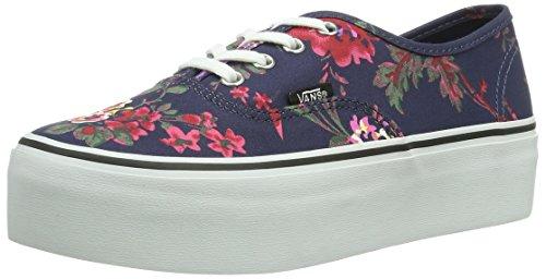 Vans-U-AUTHENTIC-PLATFORM-FLORAL-NAVY-Zapatillas-de-lona-para-mujer-color-multicolor-talla-385-EU-55-Erwachsene-UK