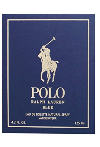 Französisch-spray Köln (Ralph Lauren Polo Blau Herren 125 ml EDT Duft Herren Duft Köln Spray (Decoded))