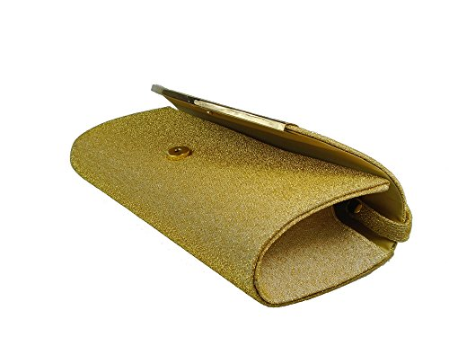 XPGG - Borsetta senza manici donna oro