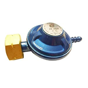 41AjOcowwKL. SS300  - Gas Regulator Calor Butane 29 Mbar (Screw in) LR2108