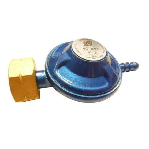 41AjOcowwKL. SS500  - Gas Regulator Calor Butane 29 Mbar (Screw in) LR2108