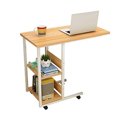 Lyn tavolini da divano, 2-tier comodino computer desk, desktop home semplice scrivania camera da letto mobile piccolo tavolino per divano del soggiorno