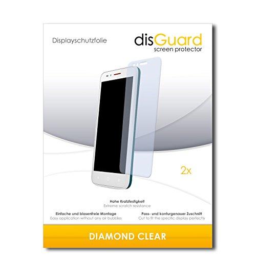2 x disGuard® Bildschirmschutzfolie Alcatel One Touch Go Play Schutzfolie Folie