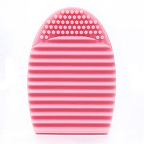 Sunnywill Reinigung Handschuh Make-up Pinsel Wäscher Board Kosmetik sauber waschen für Mädchen Frauen - Machen Halloween-masken Zu