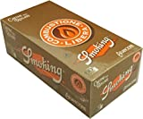 Smoking Orange Arancione Cartine Corte Scatola 50 pacchetti