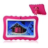 TEEPAO, Tablet Touch per Bambini, Tablet da 7 Pollici WiFi, Android 4.4, IPS HD...