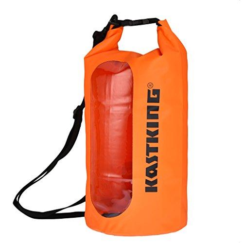 KastKing® Dry Bag impermeabile per la nautica, rafting, kayak, pesca,