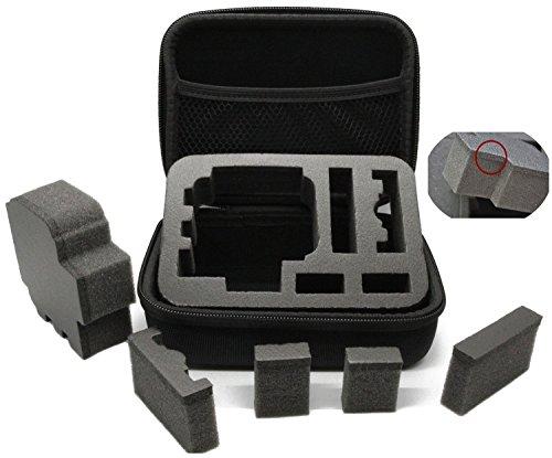 Revesun di resistenza urti protezione di medie dimensioni per GoPro Hero 4sessione/HERO4HERO4Black/Silver/Hero/Hero2/3/3+/HERO4/SJCAM SJ4000/SJ5000/accessori GoPro/SJCAM accessori
