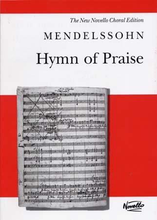 Mendelssohn Hymn of Praise Vocal Score
