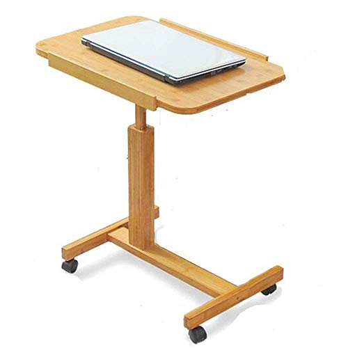 JOLLY Krankenhaus-Bett-Tisch - Schwenkrad-Roll-Tablett - einstellbar über Bedside Home Desk - Laptop, Lesen, Essen Frühstück Wagenstand - Bedridden, Ältere Patienten, Senior Patient Aid (Laptop-computer Für Senioren)