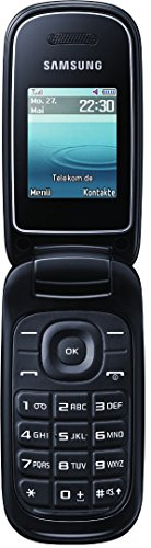 E1270 Samsung E1270 Klapphandy 4.5 cm(1.7 Zoll) schwarz [T-Mobile-Branding]