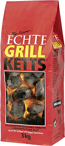 Feuer & Flamme - Grill Holzkohle - 3kg