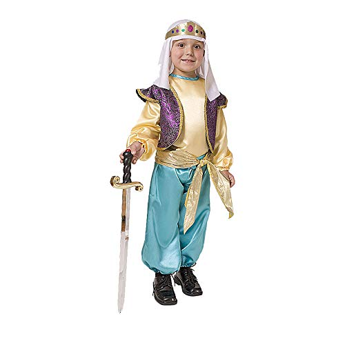 Dress Up America Arabisches Sultan-Jungen-Kostüm (Sultan Kostüm Kinder)