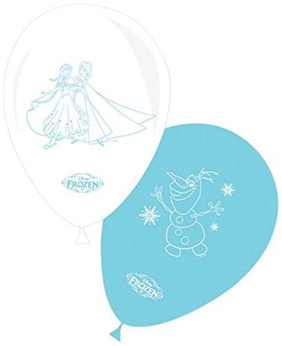 8-ballons-blancs-et-bleus-la-reine-des-neiges-taille-unique