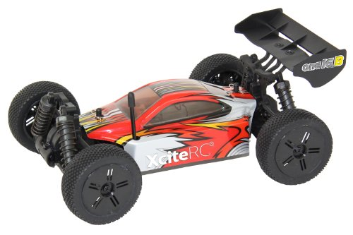 XciteRC-30503000-RC-Auto-Buggy-one16-B-4WD-Ready-To-Race-Modellauto-116-mit-24-GHz-Fernsteuerung-rot