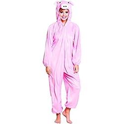 Costume tuta peluche Porcellino (max 1,95m)