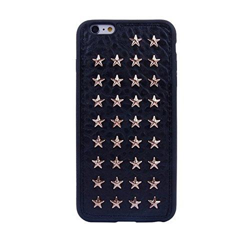 Pour iPhone 6 Plus / 6S Plus Star Pattern Rivet Style TPU Case JING ( SKU : S-ip6p-0140a ) S-ip6p-0140a