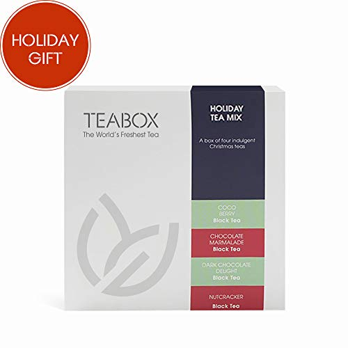 Pack Regalo tés Teabox Holiday Christmas | Incluye