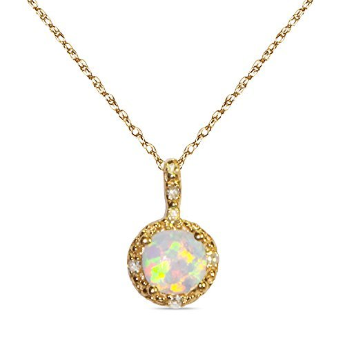 025ct-diamond-with-created-opal-in-10k-yellow-gold-in-pendant-with-complimentary-18-chain-by-nissoni