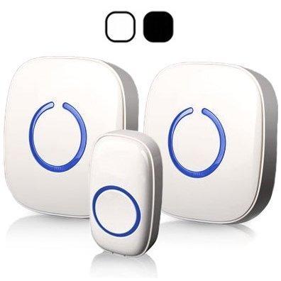 IVSO portable kit de sonnette de porte sans fil portée
