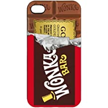 Golden Bar Willy Wonka Chocolate i013 IPHONE 4/4S/5 PHONE CASE COVER (IPHONE 4/4S)