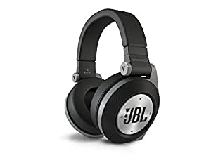 JBL E50 BT Cuffie Stereo Bluetooth Imbottite, Ricaricabili, Wireless, Compatibili con Prestazioni Purebass, Compatibili con Dispositivi Apple iOS e Android, Nero
