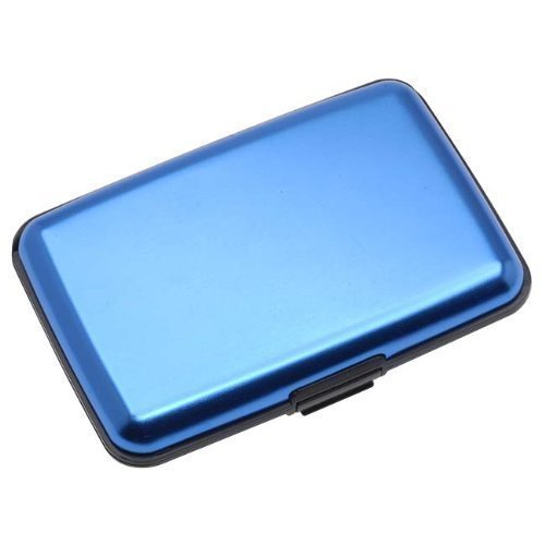 Aluma-Wallet-Credit-Card-Holder-RFID-Blocking-Blue-Color