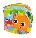 Playgro Badebuch Plantschende Freunde, Mit Quietschfunktion, Ab 6 Monaten, BPA-frei, Splashing Fun Friends Bath Book, Bunt, 40180