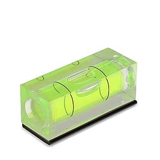 UANDM Mini Bolsillo Nivel Burbuja de Alta precisión Mini con Nivel magnético Pequeña Burbuja Horizontal portátil