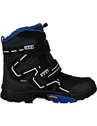 McKinley Children s Winter Boots Snow Star II AQX Black Blue 450b860f750