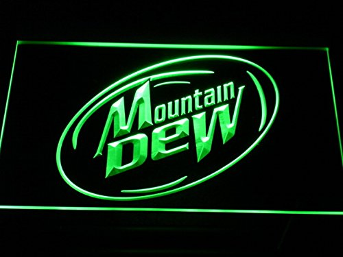 Mountain Dew Energy Drink Sport LED Neon Light Sign Man Cave A162-G e79cd2ed0961