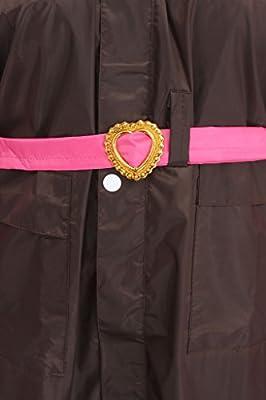 ELLIS Women's Polyester Pink Raincoat/Rainsuit / Rainwear