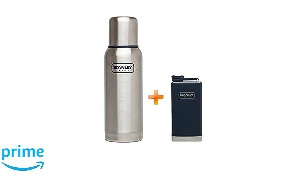 Flachmann//Thermokanne Stanley Adventure Gift Set Vakuum-Flasche