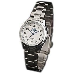 ufengke® nice steel wrist watch,retro luminous waterproof watch for women-white