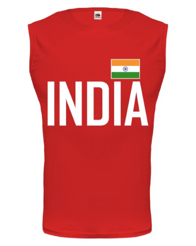 buXsbaum® Tank Top Indien Red-