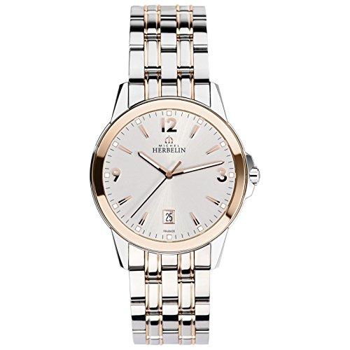 Mens Michel Herbelin Watch 12250/BTR12
