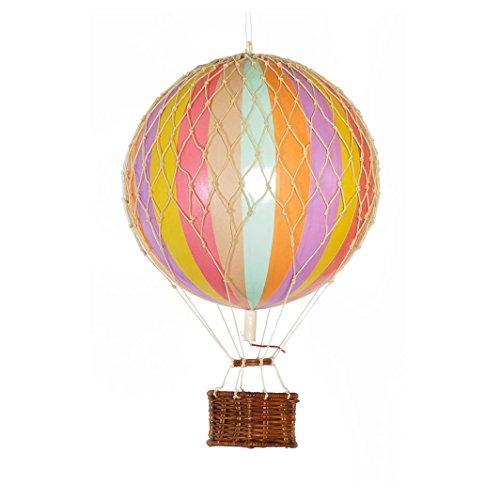 Authentic Models - Travels Light - Heißluftballon - Ballon - Regenbogen - Pastell - Ø 18 cm