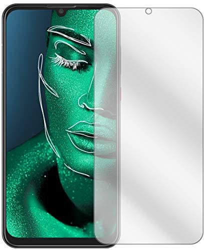 Ecultor I 2X Schutzfolie passend für ZTE Blade V10 Bildschirmschutz-Folie Klar (bewusst Kleiner als das Glas, da Dieses gewölbt ist)