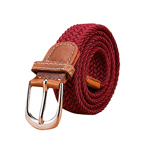 YBWZH Damen Leder Perlen Gürtel für Jeans Gürtel für Hosen Jeansgürtel Fashion Gürtel Breiter Taillengürtel Hüftgürtel Bindegürtel Stretchgürtel Ledergürtel in vielen Farben(E)