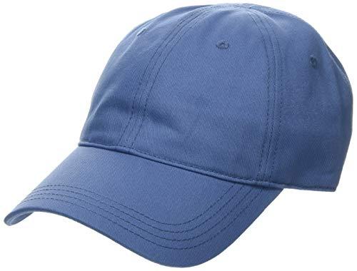 Lacoste Herren Rk9811 Schirmmütze, Blau (ROI Pq8), One Size (Herstellergröße: TU) Baumwolle Winter Cap