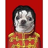 UtopiaShi Pet star bar hair salon creative personality cat dog decorative painting painting mural Mike Jackson 40-51