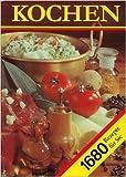 Kochen : ein neues Rezeptbuch für alle Leute, die mit Leidenschaft backen und brutzeln, kochen und mixen und essen , 1680 Rezepte, Tips zum Haltbarmachen, manches über Gewürze , Rezepte, jeweils gedacht für 4 Personen.