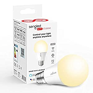 Sengled Lampadina Smart WiFi E27 9W, Lampadina Intelligente Compatibile con Alexa e Google Home, Controllo Vocale e… 41AjhIuSseL. SS300