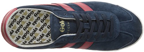 Gola Specialist, Sneakers Basses Homme Bleu (Navy/red Eur)