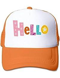 dfegyfr Color Hola Gorras de béisbol de Malla de Deportes Ajustables Gorra  de Camionero Sombreros de 391d8bd3206
